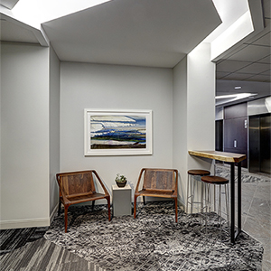 STANFORD PLACE III | Denver, Colorado | Lobby Breakout Nook